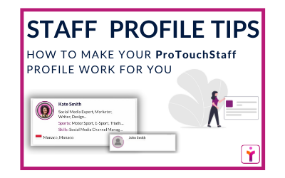 A Staff Profile for your dream job! How to build the best staff profile to help you get your dream job:
